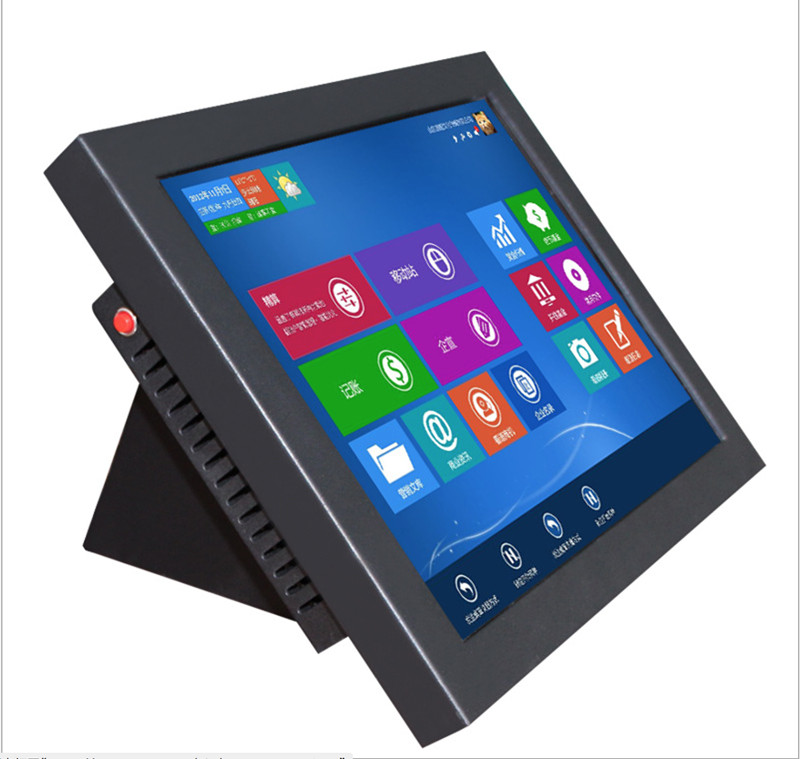 21.5 inch all in one pc touch screen Resolution 1680X1050 with industrial computeSSD Intel Celeron J1900  2Gh