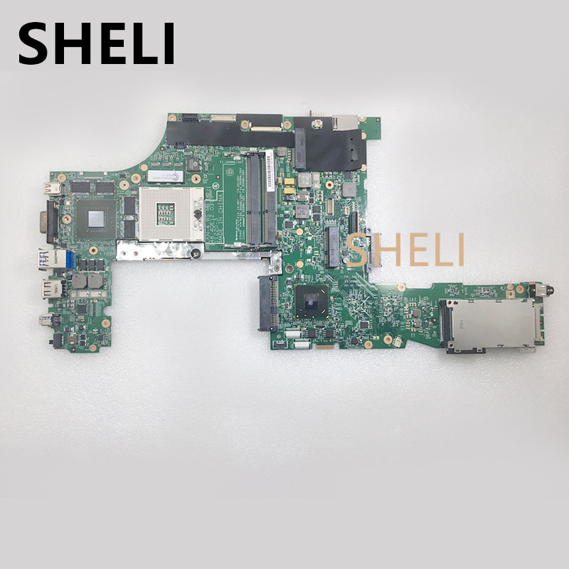 SHELI  For Lenovo Thinkpad W530 Laptop Motherboard Quadro K1000M DDR3 04X1515 48.4QE12.031SHELI  For Lenovo Thinkpad W530 Laptop Motherboard Quadro K1000M DDR3 04X1515 48.4QE12.031