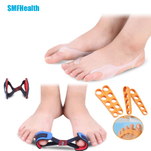 10Pcs Toe Separator Feet Care Toe Separators Bunion Straightener Belt Hallux Valgus Corrector Foot Pain Relief Corrector D0154