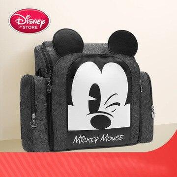 Disney cartoon sac à bandoulière momie multi-fonction grande capacité bébé hors du portable siège tabouret maternité voyage paquet