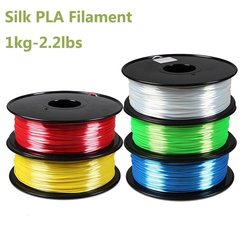 1kg Silk feeling pla 3d printer filament Polymer Composites 1.75mm impressora 3d pla plastic filament China 1.75 filamento pla pla nanocomposite an overview