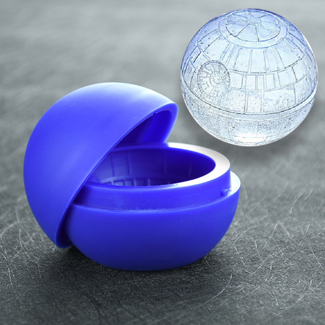 Star War Silicone Sphere Ice Mold Ball