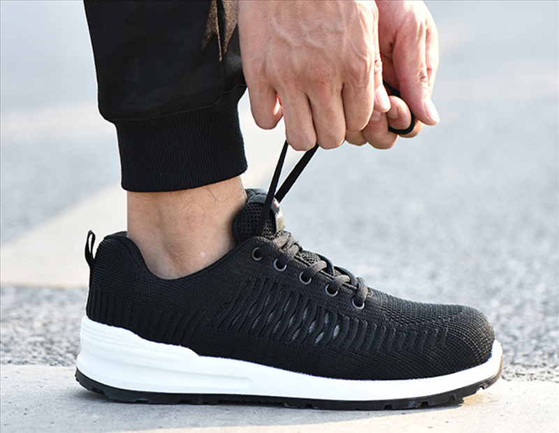 New-exhibition-Flying-mesh-Breathable-Steel-Toe-Cap-Safety-Shoes-Men-anti-pierce-Injection-bottom-work-Safety-boots-2019-Sneaker (16)