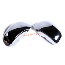 Exterior 2PCS ABS Door Side View Wing Mirror Cover Trim for Opel Mokka Buick Encore 2013