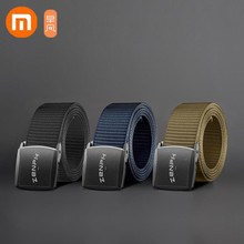Xiaomi Zaofeng ремень Открытый тактический ремень 96 нейлоновая тесьма Регулируемая длина 38 мм ширина мужской ремень есть 3 цвета