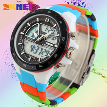 Zk30 Men Sports Relógios Moda Casual Relógio dos homens Digital Analógico Alarme 30 Militar Multifuncional Homem Relógios de Pulso À Prova D' Água