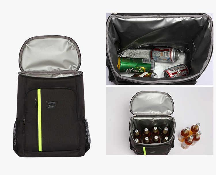 32.8L mochila de Picnic termo bolsas de almuerzo refrigerador para mujeres niños bolsa térmica caja de almuerzo comida mochila de Picnic