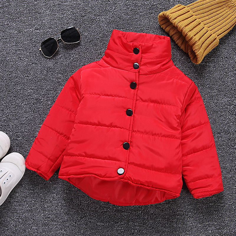 2017 New Children Down Parkas Kids Clothes Winter Thick Warm Casual Girls Jackets & Coats Baby Down Parka Outerwear baby girls parkas 2017 winter thick outerwear casual coats children clothing kids clothes solid thicken cotton padded warm coat