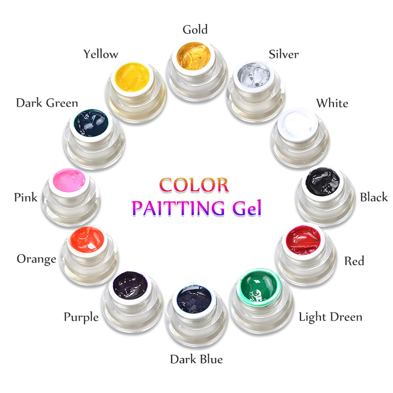 Paint Colors And Brands: ᑐBrand New DIY Nail Art Φ_Φ Colors Colors 3D Nail Art