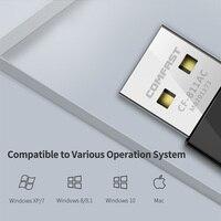 אנטנה עבור USB Wifi מתאם 650Mbps Wireless Network Card Ethernet אנטנה Wifi כונס ננו LAN AC Band Dual 2.4 + 5GHz עבור Dongle למחשב Wifi (5)