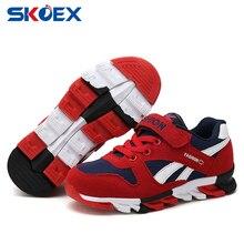 Enfants Chaussures Mesh Respirant Filles Garçons Mode Sneakers Enfants Courir Sport Chaussures Casual Étudiant Toile Chaussures (Petit/Grand enfants)