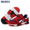 Crianças Sapatos Malha Respirável Meninos Meninas Moda Sapatilhas Crianças Running Calçados Esportivos Casuais Sapatas de Lona Estudante (Pequeno/Grande crianças)