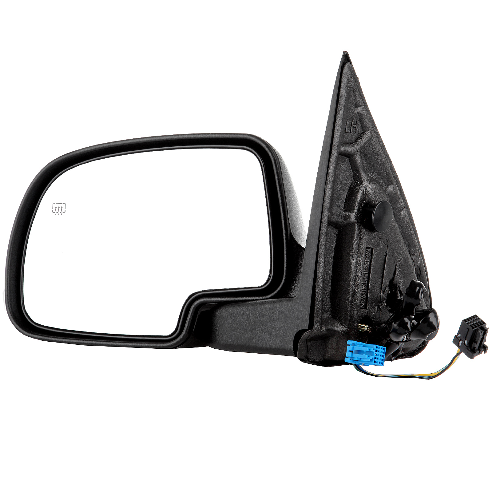 Eccpp power car rearview mirror heated side view mirror heating driver left lh for 2003 2004
