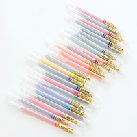 24 Colors Cute Aihao Kawaii Korean Bear Animal Black Ink 0 38mm Gel Pens Writing Supplies