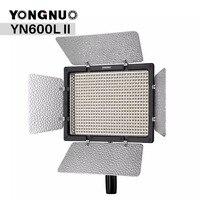 Yongnuo YN600L II YN600 II 3200 К 5500 К Панель светодиодный видео с Falcon Eyes адаптер Комплект Поддержка bluetooth Управление по телефону App