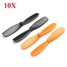 10X Walkera QR Ladybird Blades Propellers for QX90 QX105 QX95 QX100 Hubsan X4 JJRC  H6C DIY Micro Quadcopter Sapre Parts Acces