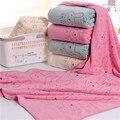 Ребенок 70*140 мягкая впитывающее полотенце из микрофибры полотенце печати мультфильм кролик дети