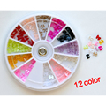 Best Sale Best Sale 12 Different Color Bow Bows Pearl Nail Art Stone Wheel Rhinestones Beads