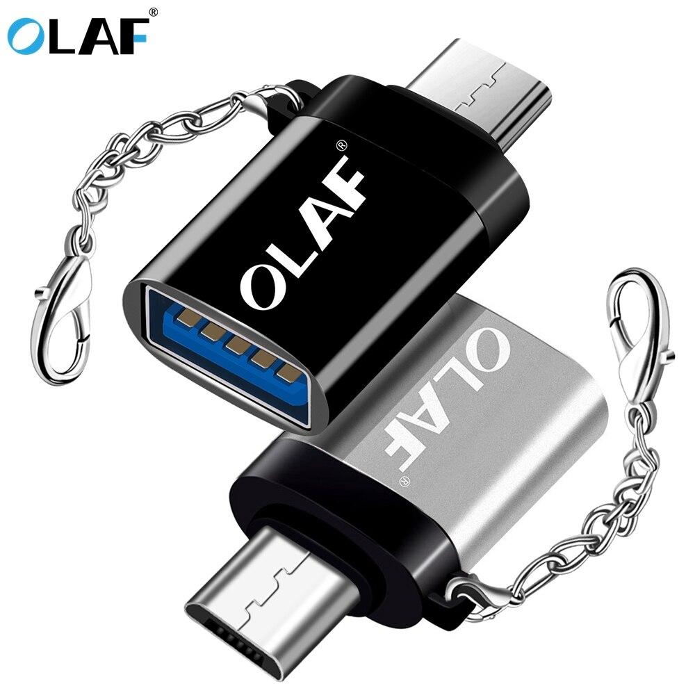 Olaf USB Adapter Micro USB OTG UBA To Micro USB 3.0 UBA Converter OTG Cable Adapter Connector For Samsung S7 Xiaomi Huawei LG