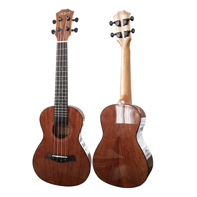 23 Concert Ukulele Rosewood Glossy Ukelele 4 Aquila Nylon strings acoustic guitar ABS edging 18 frets