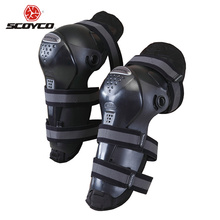 SCOYCO Motocross Off-Road Racing Knee Protector Guard Motorcycle Riding Knee Pads Outdoor Sports Protective Gear Accessories