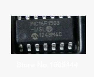 משלוח חינם! PIC16F1503 I/SL SOP14 חדש ומקורי במלאי