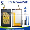 1PCS lowest price For Lenovo P780 LCD with touch screen digitizer Assembly + TOOLs