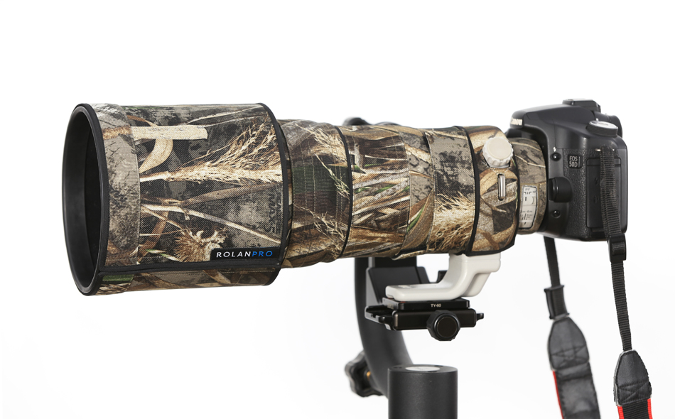ROLANPRO Waterproof Camouflage Rain Cover for Canon EF