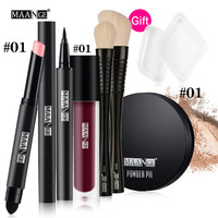 Hot Selling High Quality Blusher Lip Gloss Shimmer Eyeshadow Palette Premiuim Makeup Kit Brush Cosmetic Set