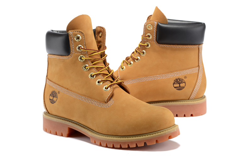 TIMBERLAND Classic Women's 6-Inch Premium Waterproof 10061 Boots,Woman Female Nubuck Genuine Leather Ankle Wheat Yellow Shoes  3