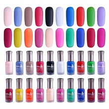 1 Bottle 12ml Matte Dull Nail Polish Fast Dry Long-lasting Nail Art Varnish Lacquer Nail Color 40 Colors available