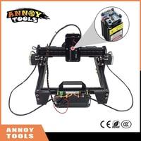 ANNOYTOOLS New 500mw-5500mw Mini DIY Laser Engraving Engraver Machine Laser Printer Marking Machine laser fasrer accurate