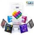48 шт. мужские презервативы condones смешать плотно горячие соблазнить удовольствие латексный презерватив lubricantion взрослых fm-возбудитель секс игрушки секс-товаров для человека
