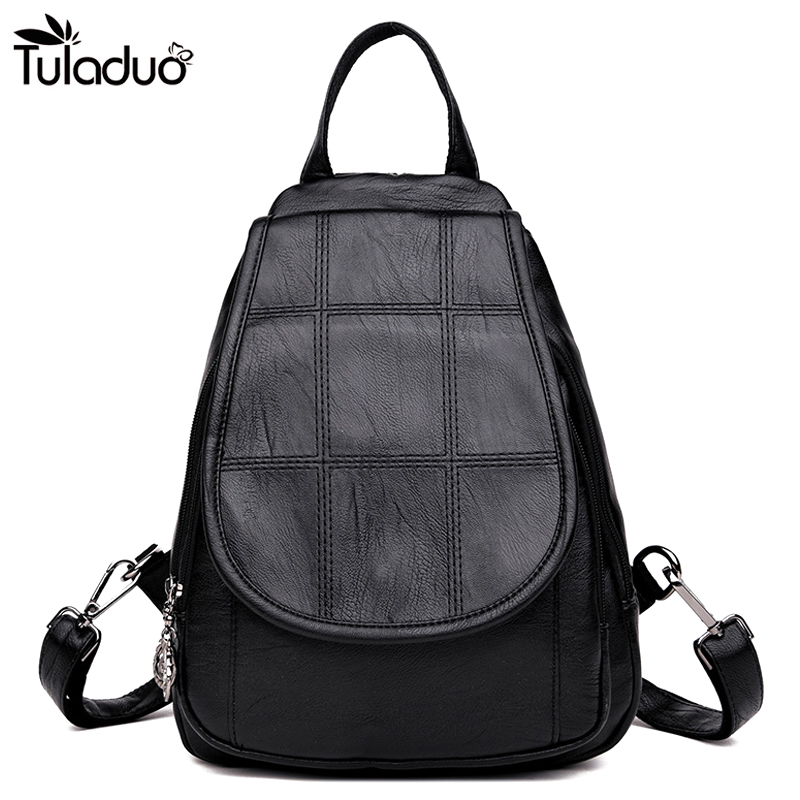 Women Side Silt Pocket Cover Closer Backpacks Hasp Cover School Bags For Teenagers Casual Travel Computer Laptop Bag Black Red free shipping wholesale retail sa212 saddle bag motorcycle side helmet riding travel bags rain cover one pair