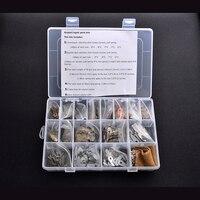 1 коробка волос ножницами части Ножницы ремонтные комплекты аксессуаров, включая Рессоры/ключи для Ножницы винт/вытирая ткань