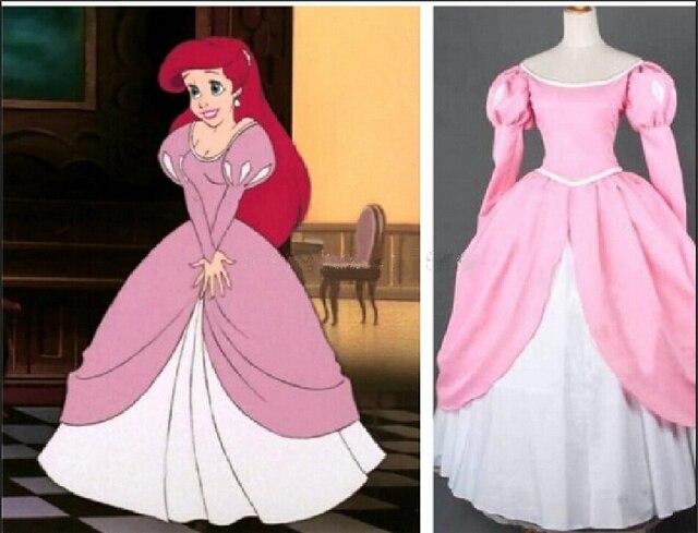 Arielle kleid pink
