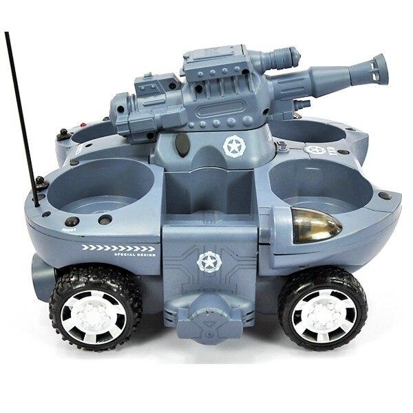 Rc tank 24883 junge spielzeug 4CH große feuer BB kugeln schießen land und wasser amphibien fernbedienung spielzeug tank rc auto Geschenk für Kind - 2
