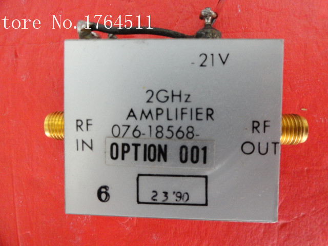 [BELLA] HARRIS 076-18568-001 2GHz Vin:21V SMA Supply Amplifier