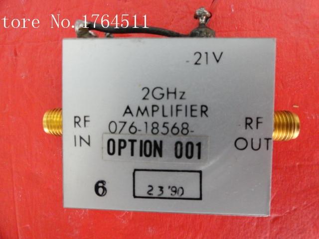 [BELLA] HARRIS 076-18568-001 2GHz Vin:21V SMA Supply Amplifier