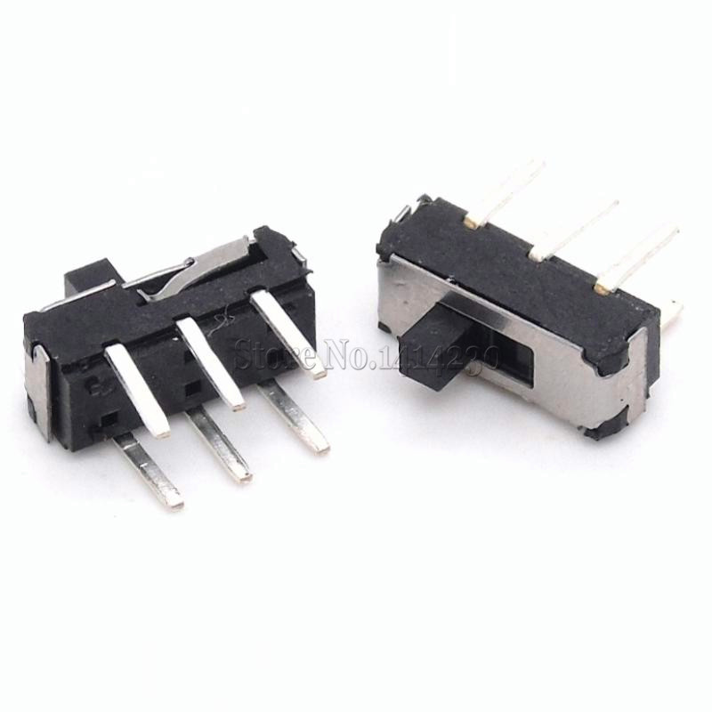 20Pcs MSS22D18 MINI Miniature DIP Slide Switch 2P2T 6Pin Handle High 2mm For DVD Switch
