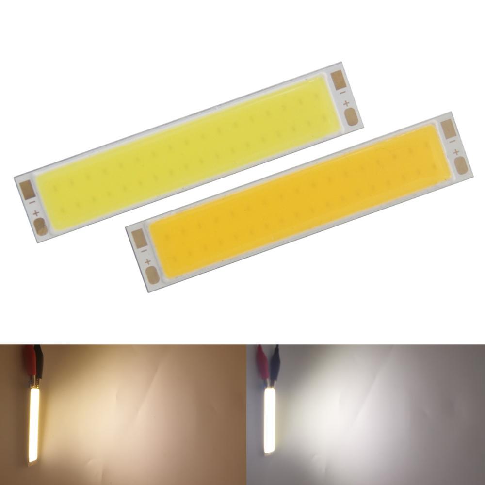 hot sale 77mm16mm LED COB Strip module Light Source Lamp 21V DC 3000K 6000K Warm White 7W FLIP Chip Bulb for Corn