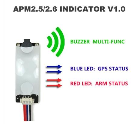 OCDAY APM2.8 APM2.6 2.5/ MWC LED & Buzzer Indicator V1.0 for APM2.5/ 2.6 Multiwii Flight Control mwc multiwii bluetooth parameter debug module bluetooth adapter for mwc naze32 flight controller