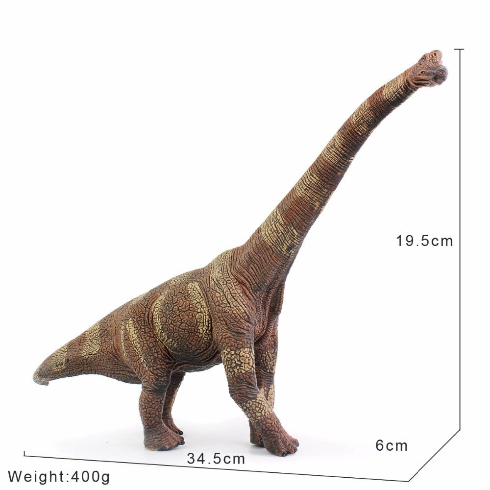 Wiben Jurski Brachiosaurus Dinosaur Igračke Akcija Slika - Igračke figurice - Foto 2