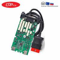 CDP TCS Single Green PCB A+ NEC Car/Truck Diagnostic Tool 2016 R1/2015 R3 keygen New VCI OBD2 OBDII Auto Scanner
