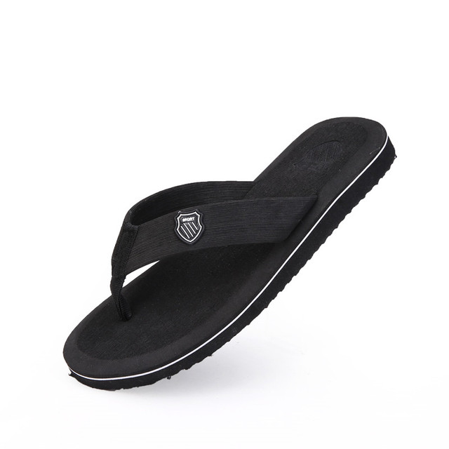 Mùa hè cho Nam Dép Đi Biển Dép Dép Xỏ ngón Đen Ngoài Trời Giày Sandal Nam Dép Sandalia Masculina Size 40-44 GIÀY