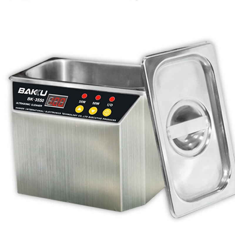 110/220V BAKU 3550 BK-3550 Ultrasonic Cleaner Cleaning machine welly игровой набор машинок 3 шт