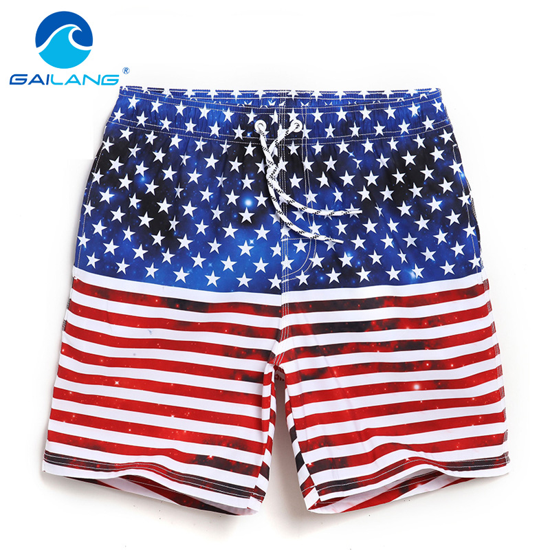 TAD Store Gailang Brand Mens Beach Shorts Board Boxer Shorts Trunks Men's Swimwear Swimsuits Bermuda Short Bottoms Big Plus Size