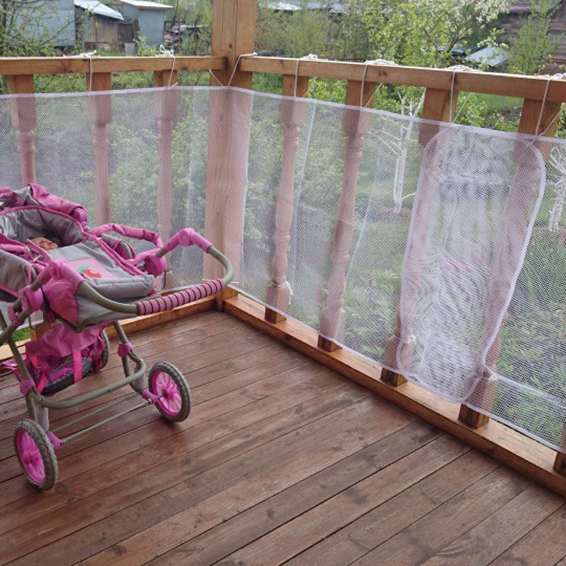 Railing Stairs Balcony Safety Protecting Net Baby Safety Fence Child Safety