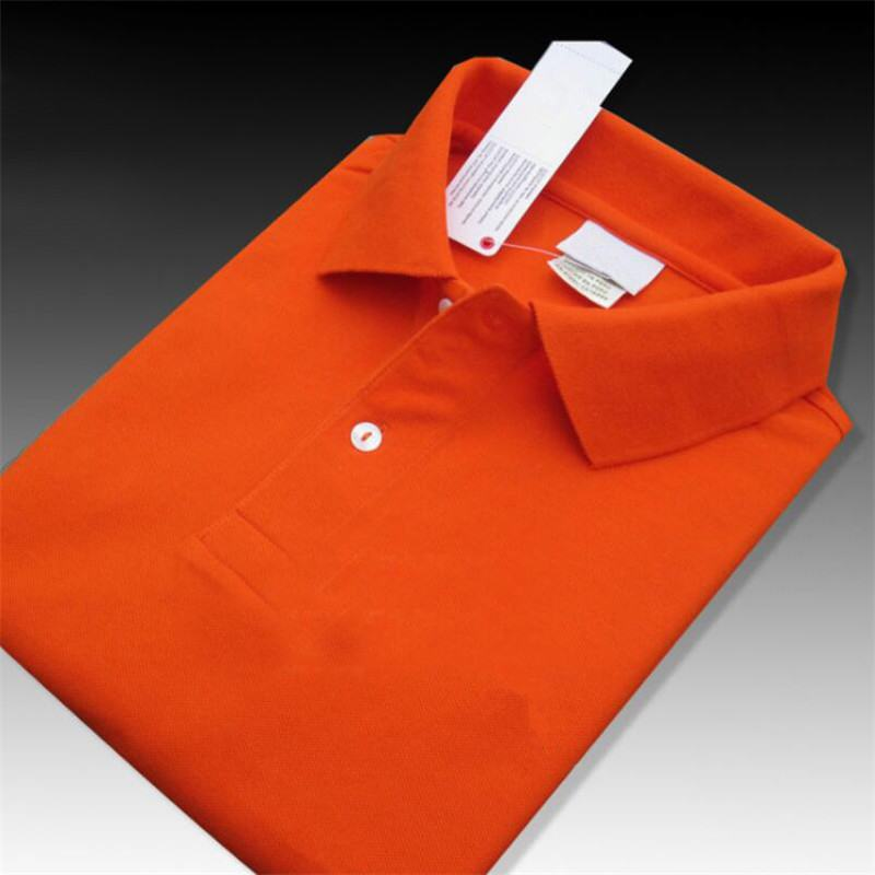 100% Cotton 2019 Summer Men's short sleeve   polos   shirts Plus size XS-4XL casual solid color mens   polos   shirts fashion mens tops