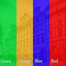 0,5x1,52 м красная Солнечная пленка/оттенок/окно/стекло/Конфиденциальность/рулон/УФ/